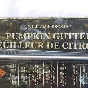 Williams Sonoma Pumpkin Gutter